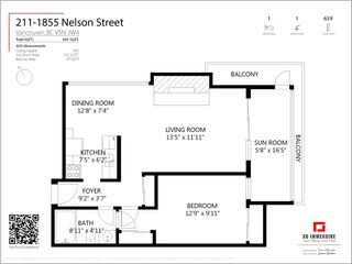 """Photo 14: 211 1855 NELSON Street in Vancouver: West End VW Condo for sale in """"West Park"""" (Vancouver West)  : MLS®# R2583355"""