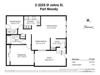 """Photo 19: 2 2223 ST JOHNS Street in Port Moody: Port Moody Centre Townhouse for sale in """"PERRY'S MEWS"""" : MLS®# R2363236"""