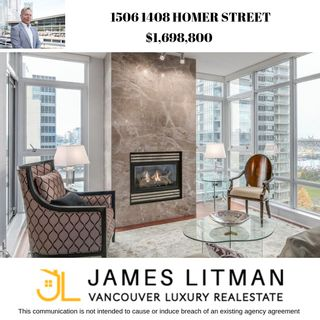 Photo 1: 1506 1408 Homer Street in Vancouver: Condo for sale : MLS®# R2232330