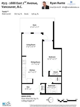 """Photo 37: 513 2888 E 2ND Avenue in Vancouver: Renfrew VE Condo for sale in """"SESAME"""" (Vancouver East)  : MLS®# R2558241"""