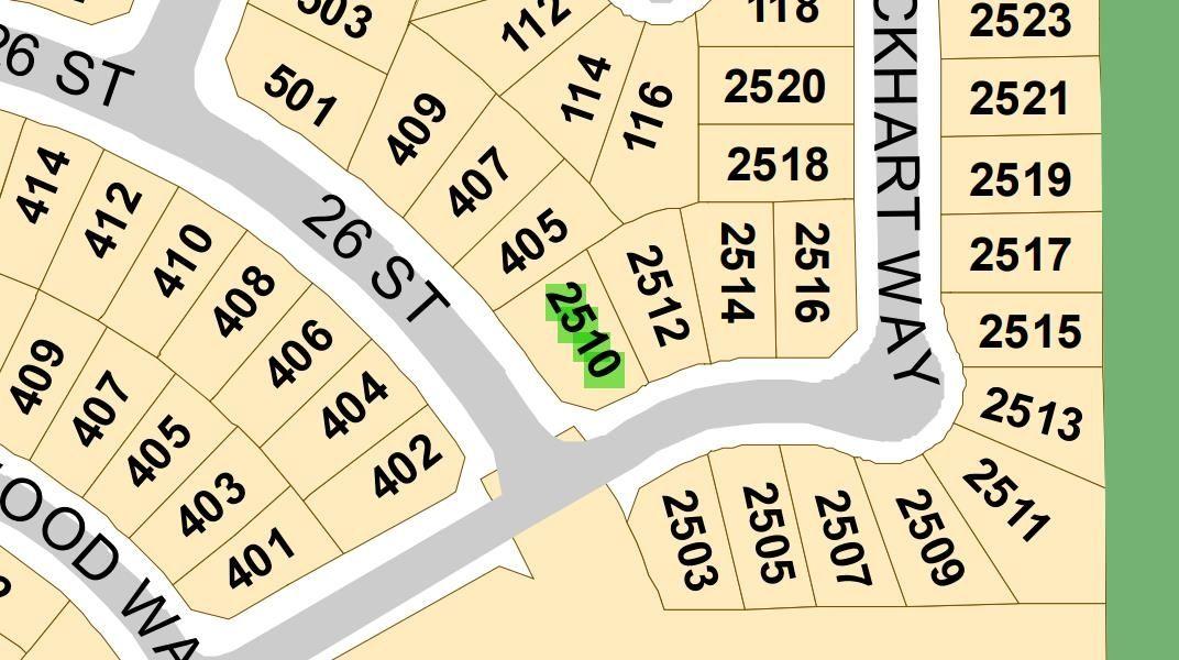 Main Photo: 2510 Lockhart Way: Cold Lake Vacant Lot for sale : MLS®# E4265054