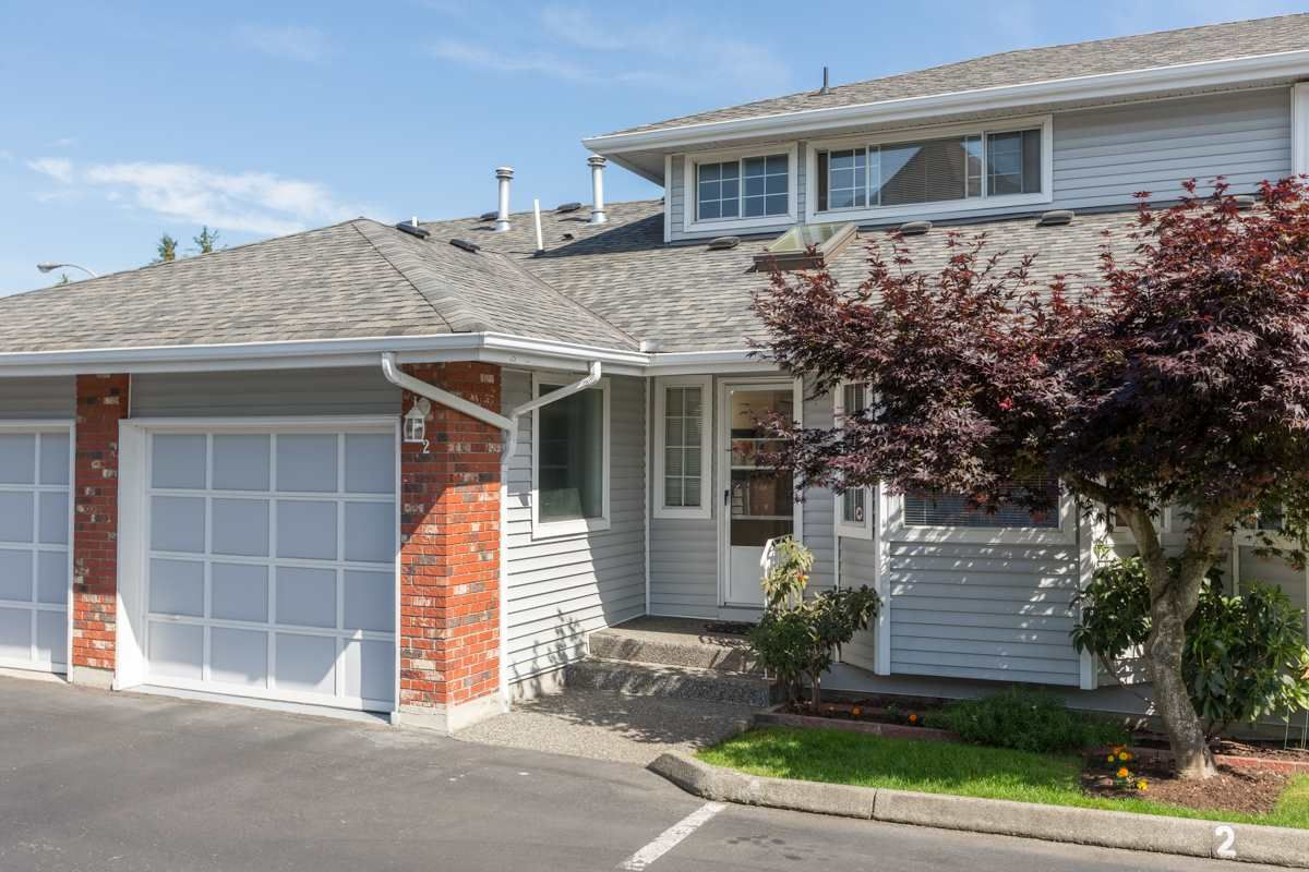 "Main Photo: 2 5365 205 Street in Langley: Langley City Townhouse for sale in ""Morningside Estates"" : MLS®# R2077004"