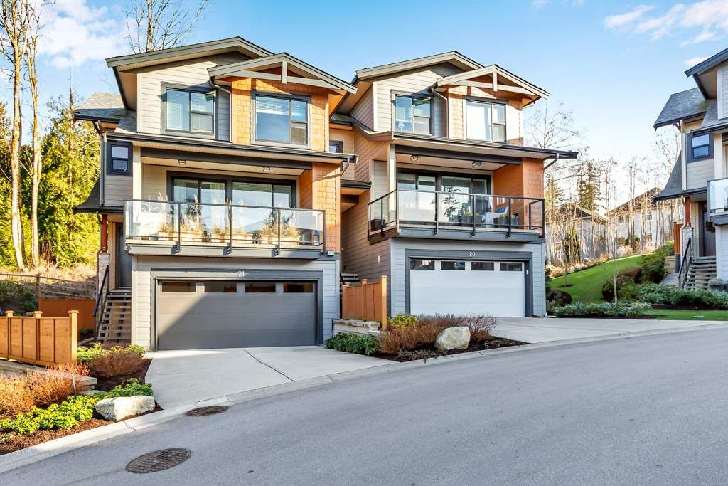 """Photo 1: Photos: 21 3618 150 Street in Surrey: Morgan Creek Townhouse for sale in """"Viridian"""" (South Surrey White Rock)  : MLS®# R2567751"""