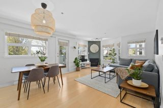 """Photo 1: 202 1515 E 6TH Avenue in Vancouver: Grandview Woodland Condo for sale in """"Woodland Terrace"""" (Vancouver East)  : MLS®# R2571268"""