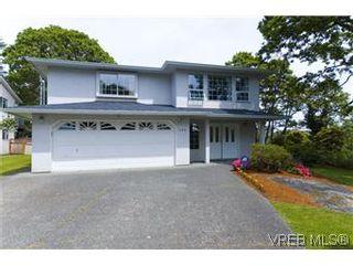 Photo 1: 1160 Gerda Rd in VICTORIA: SW Northridge House for sale (Saanich West)  : MLS®# 574242