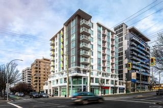 Photo 1: 802 1090 Johnson St in : Vi Downtown Condo for sale (Victoria)  : MLS®# 855781