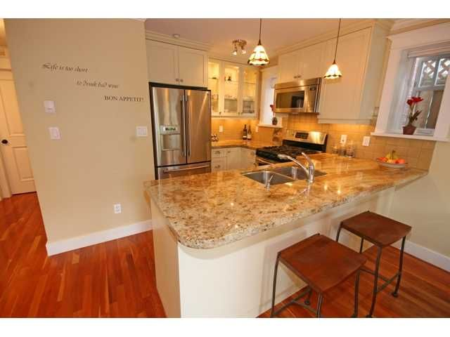 """Photo 4: Photos: 3538 W 5TH Avenue in Vancouver: Kitsilano Townhouse for sale in """"BOEUR HOUSE"""" (Vancouver West)  : MLS®# V822581"""