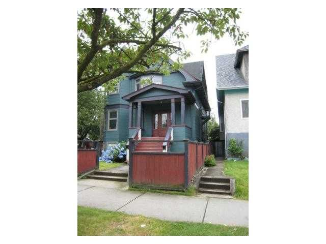 Main Photo: 1876 Charles in Vancouver: Grandview VE Multifamily for sale (Vancouver East)  : MLS®#  V977029