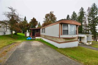 "Photo 1: 20 770 N 11TH Avenue in Williams Lake: Williams Lake - City Manufactured Home for sale in ""FRAN LEE TRAILER PARK"" (Williams Lake (Zone 27))  : MLS®# R2501605"