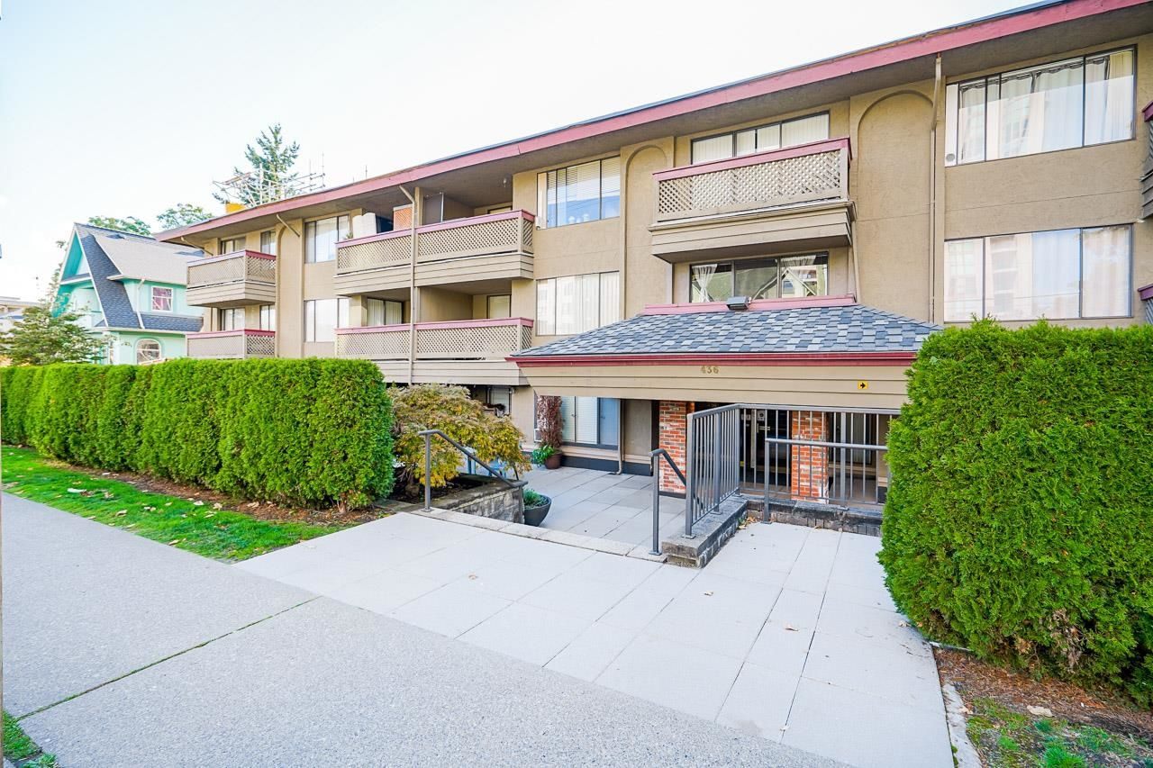 """Main Photo: 106 436 SEVENTH Street in New Westminster: Uptown NW Condo for sale in """"REGENCY COURT"""" : MLS®# R2625493"""