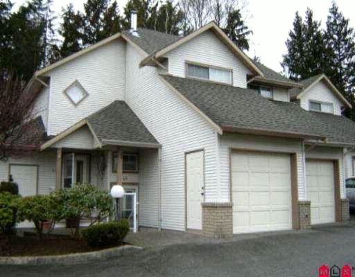 """Main Photo: 45 32361 Mcrae Avenue in Mission: Townhouse for sale in """"Spencer Estates"""" : MLS®# F1003310"""