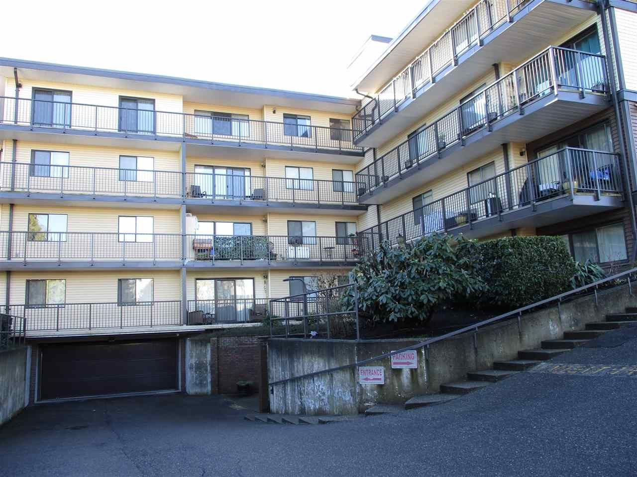 "Main Photo: 106 32110 TIMS Avenue in Abbotsford: Abbotsford West Condo for sale in ""Bristol Court"" : MLS®# R2537106"