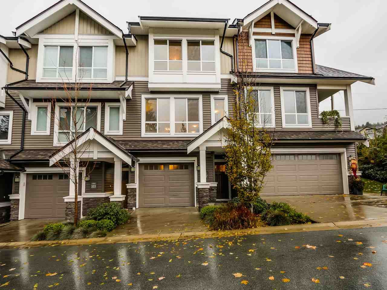 "Main Photo: 102 1480 SOUTHVIEW Street in Coquitlam: Burke Mountain Townhouse for sale in ""CEDAR CREEK NORTH"" : MLS®# R2016018"