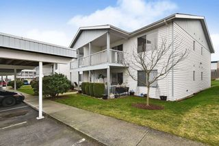 "Photo 1: 28 32691 GARIBALDI Drive in Abbotsford: Abbotsford West Condo for sale in ""CARRIAGE LANE"" : MLS®# R2537862"