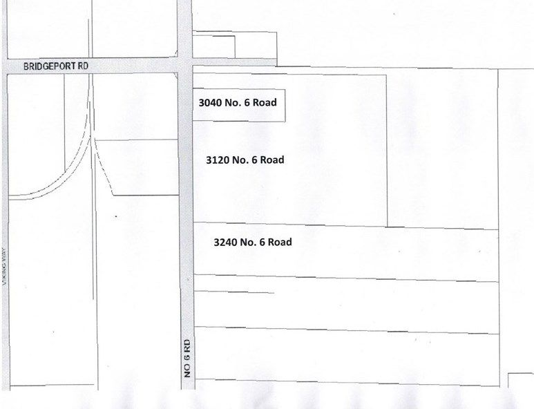 Main Photo: 3040 - 3240 NO. 6 Road in Richmond: East Richmond Land for sale : MLS®# R2404716