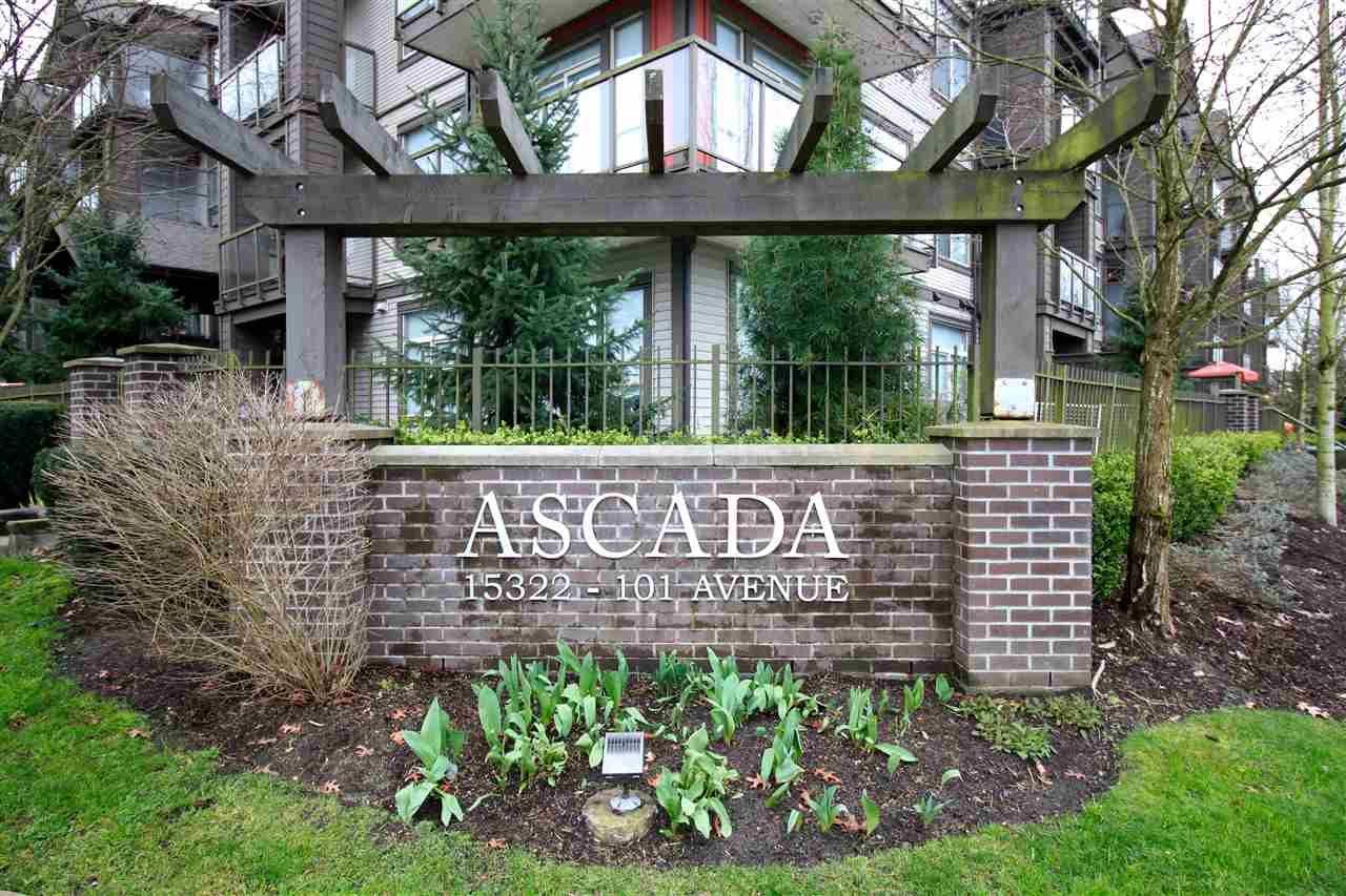 """Main Photo: 115 15322 101 Avenue in Surrey: Guildford Condo for sale in """"Ascada"""" (North Surrey)  : MLS®# R2135574"""