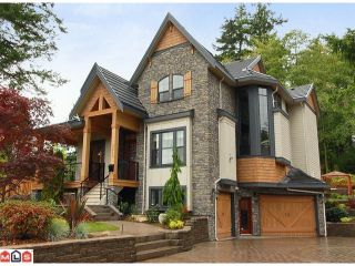 """Photo 1: 3211 141 Street in Surrey: Elgin Chantrell House for sale in """"The Estates at Elgin Creek"""" (South Surrey White Rock)  : MLS®# F1125030"""