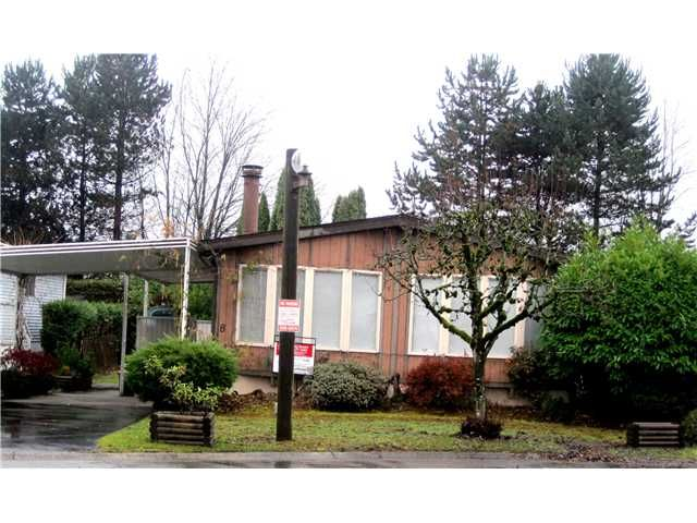 """Main Photo: 8 145 KING EDWARD Street in Coquitlam: Maillardville Manufactured Home for sale in """"MILL CREEK VILLAGE"""" : MLS®# V1038414"""