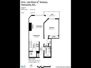 """Photo 20: 215 555 W 14TH Avenue in Vancouver: Fairview VW Condo for sale in """"Cambridge Place"""" (Vancouver West)  : MLS®# R2470013"""