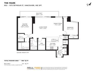 """Photo 36: 902 1372 SEYMOUR Street in Vancouver: Downtown VW Condo for sale in """"The Mark"""" (Vancouver West)  : MLS®# R2590255"""