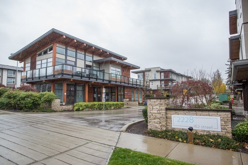 """Main Photo: 206 2228 162 Street in Surrey: Grandview Surrey Townhouse for sale in """"BREEZE"""" (South Surrey White Rock)  : MLS®# R2519926"""