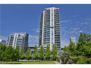 Photo 1: # 1206 638 BEACH CR in Vancouver: Yaletown Condo for sale (Vancouver West)  : MLS®# V1125146