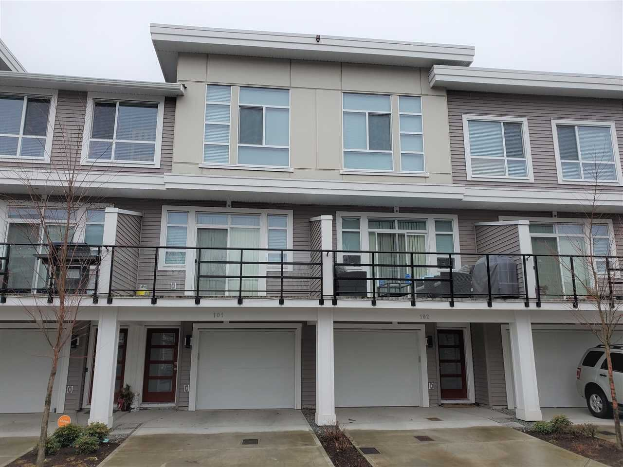 Main Photo: 101 8413 MIDTOWN Way in Chilliwack: Chilliwack W Young-Well Townhouse for sale : MLS®# R2540061