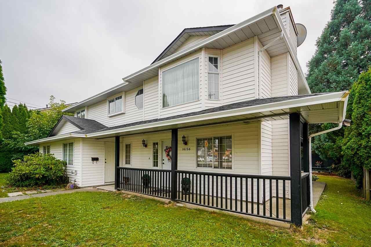Main Photo: 16156 96 Avenue in Surrey: Fleetwood Tynehead House for sale : MLS®# R2500955