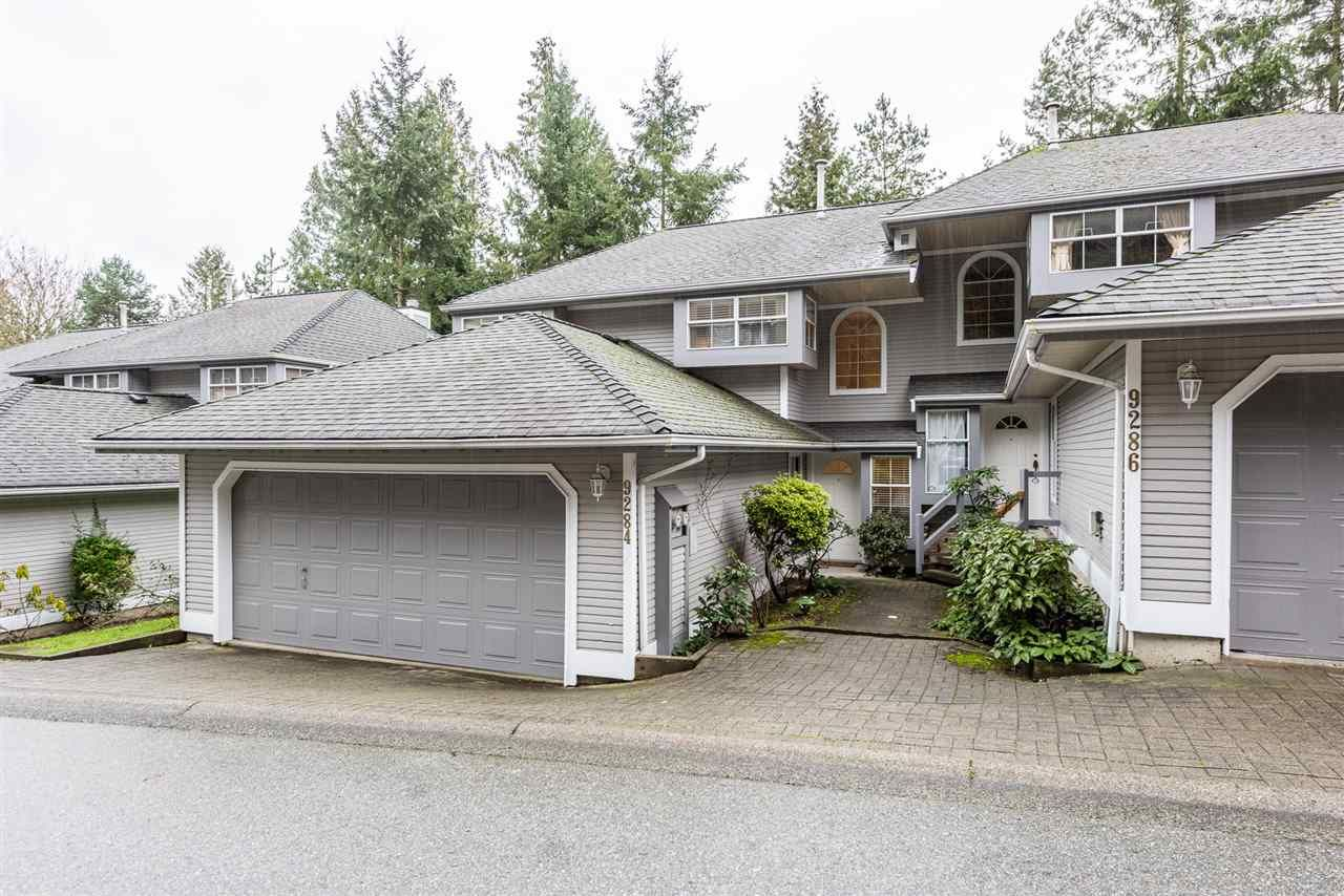 Main Photo: 9284 GOLDHURST Terrace in Burnaby: Forest Hills BN Townhouse for sale (Burnaby North)  : MLS®# R2347920
