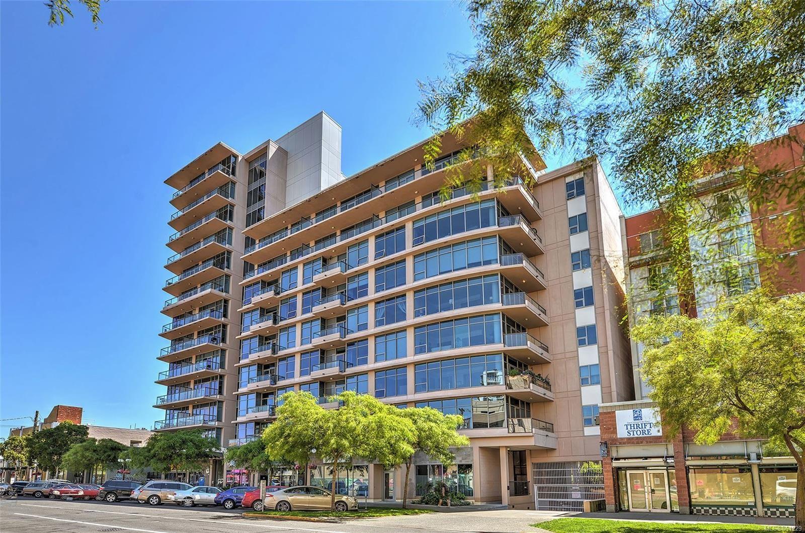 Main Photo: 703 845 Yates St in : Vi Downtown Condo for sale (Victoria)  : MLS®# 861229