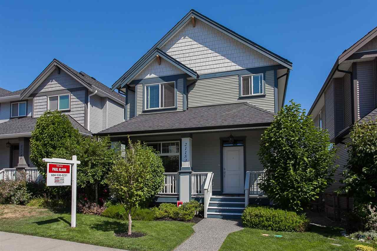 "Main Photo: 21153 79A Avenue in Langley: Willoughby Heights House for sale in ""Yorkson South"" : MLS®# R2191756"