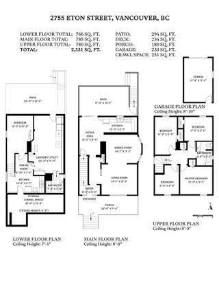 """Photo 40: 2755 ETON Street in Vancouver: Hastings Sunrise House for sale in """"HASTINGS SUNRISE"""" (Vancouver East)  : MLS®# R2568656"""