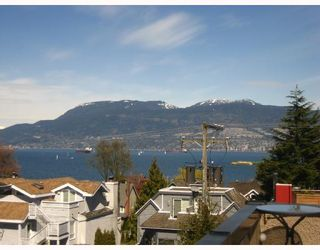 Photo 2: 1593 LARCH Street in Vancouver: Kitsilano Townhouse for sale (Vancouver West)  : MLS®# V701040