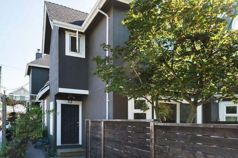 Main Photo: 52 W 16TH Avenue in Vancouver: Cambie Townhouse for sale (Vancouver West)  : MLS®# R2087237