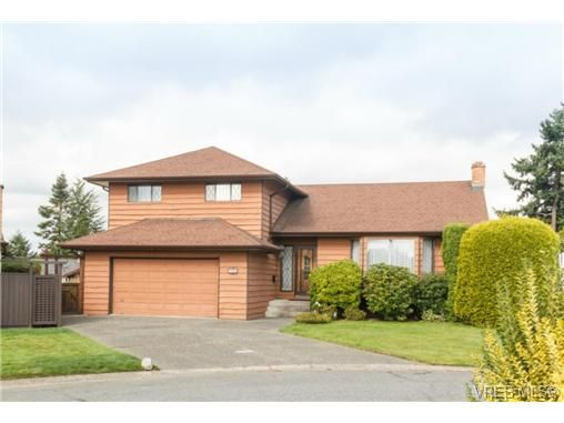 Main Photo: 795 Pepin Pl in VICTORIA: SW Northridge House for sale (Saanich West)  : MLS®# 712975