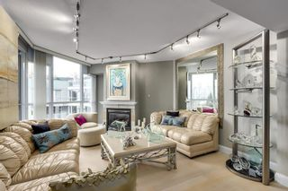 "Photo 2: 601 1425 W 6TH Avenue in Vancouver: False Creek Condo for sale in ""Modena of Portico"" (Vancouver West)  : MLS®# R2624883"