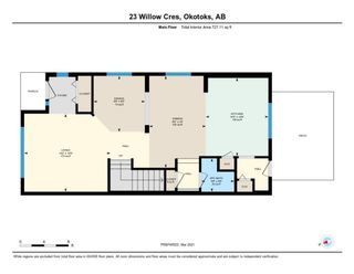 Photo 37: 23 Willow Crescent: Okotoks Semi Detached for sale : MLS®# A1083927