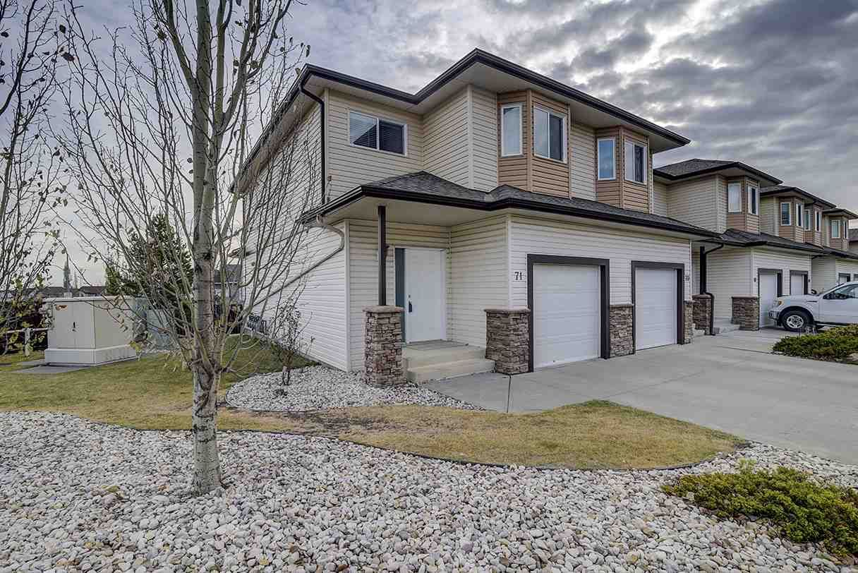 Main Photo: 71 171 BRINTNELL Boulevard in Edmonton: Zone 03 Townhouse for sale : MLS®# E4223209