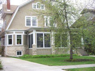 Photo 1: 203 HARVARD Avenue in WINNIPEG: River Heights / Tuxedo / Linden Woods Residential for sale (South Winnipeg)  : MLS®# 1114559