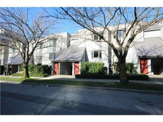 """Photo 1: 1337 W 8TH Avenue in Vancouver: Fairview VW Townhouse for sale in """"FAIRVIEW VILLAGE"""" (Vancouver West)  : MLS®# V1114051"""