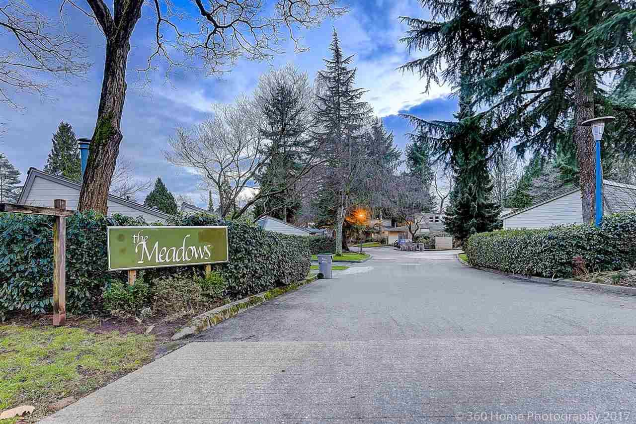 "Main Photo: 7357 CELISTA Drive in Vancouver: Champlain Heights Townhouse for sale in ""THE MEADOWS"" (Vancouver East)  : MLS®# R2239272"