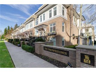 """Photo 1: 89 15833 26TH Avenue in Surrey: Grandview Surrey Townhouse for sale in """"BROWNSTONES"""" (South Surrey White Rock)  : MLS®# F1433090"""