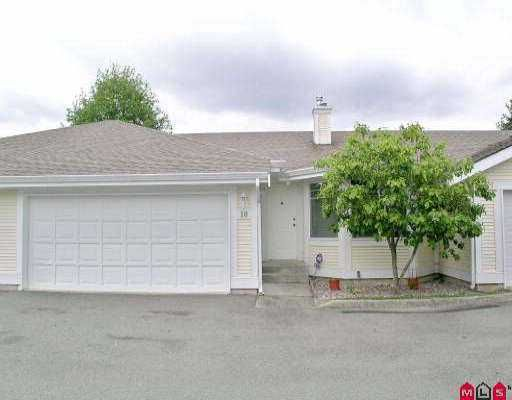 """Main Photo: 10 20761 TELEGRAPH TR in Langley: Walnut Grove Townhouse for sale in """"Woodbridge"""" : MLS®# F2510612"""