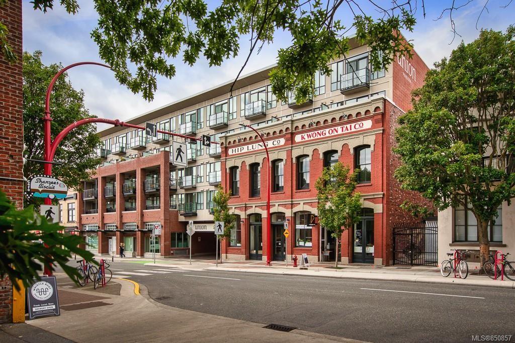 Main Photo: 403 528 Pandora Ave in : Vi Downtown Condo for sale (Victoria)  : MLS®# 850857