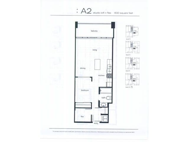 """Main Photo: 306 1252 HORNBY Street in Vancouver: Downtown VW Condo for sale in """"THE PURE"""" (Vancouver West)  : MLS®# V1077978"""