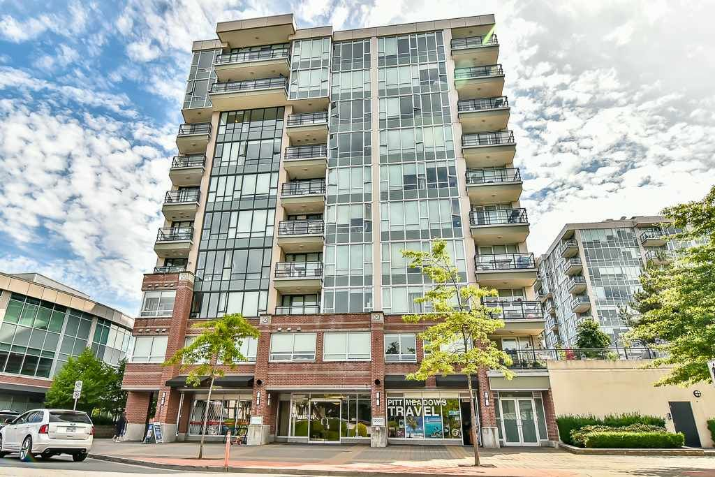 """Main Photo: 307 12069 HARRIS Road in Pitt Meadows: Central Meadows Condo for sale in """"SOLARIS AT MEADOWS GATE TOWER 1"""" : MLS®# R2186323"""