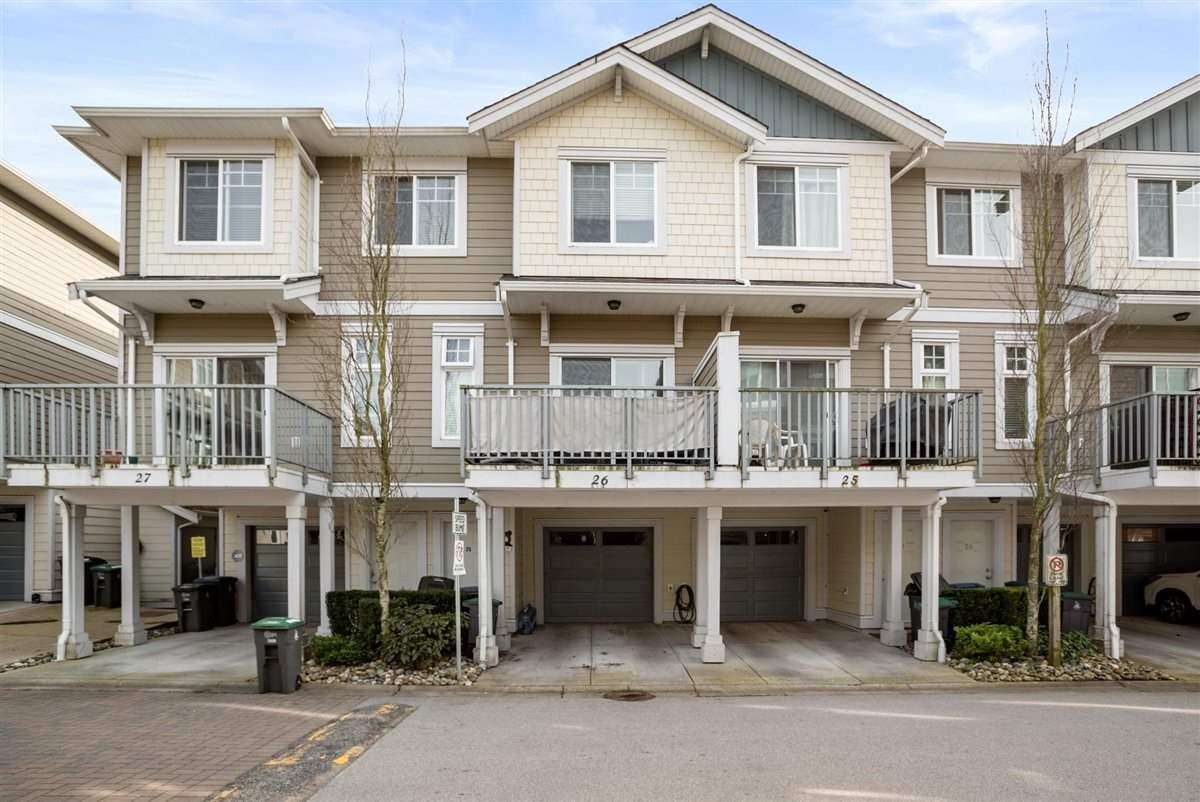 "Main Photo: 26 16355 82 Avenue in Surrey: Fleetwood Tynehead Townhouse for sale in ""Lotus"" : MLS®# R2562185"