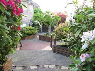 "Photo 1: 1286 W 6TH Avenue in Vancouver: Fairview VW Townhouse for sale in ""Vanderlee Court"" (Vancouver West)  : MLS®# V1097455"