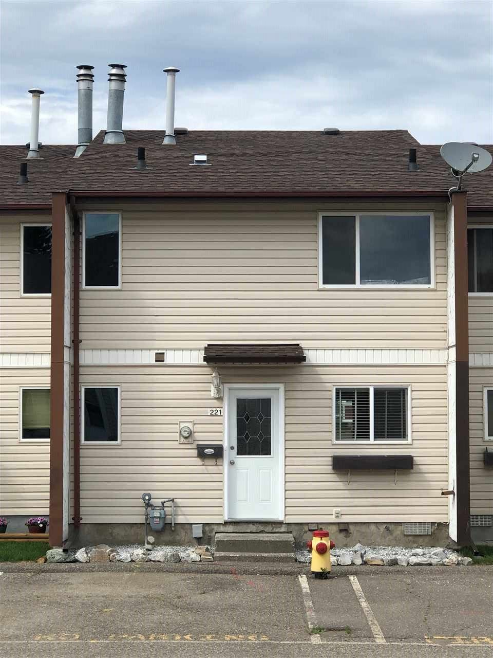 """Main Photo: 221 4344 JACKPINE Avenue in Prince George: Foothills Townhouse for sale in """"Foothills Estates"""" (PG City West (Zone 71))  : MLS®# R2380582"""