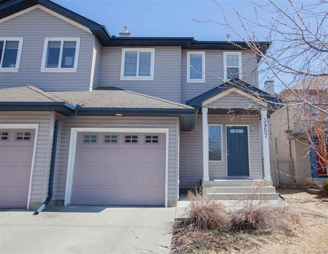 Main Photo:  in Edmonton: Zone 55 House Half Duplex for sale : MLS®# E4239126